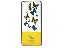 Butterfly Case Samsung A51 Yellow