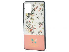 Butterfly Case Samsung A51 Pink