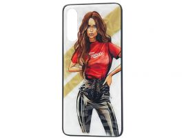 Prisma Ladies Samsung A70 Girl Red