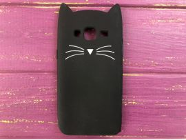 3D CAT'S Samsung J3/J310 Black