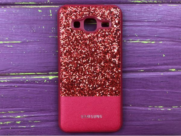 Чехол Label+Shining Samsung J3 /J310 Red