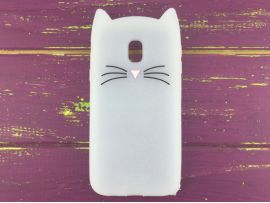 3D CAT'S Samsung J330 White