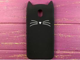 3D CAT'S Samsung J330 Black