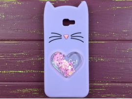 3D CAT'S Love Samsung J4+(18) Purple