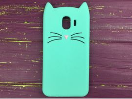 3D CAT'S Samsung J4 (18) Mint