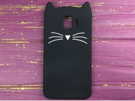 3D CAT'S Samsung J4 (18) Black