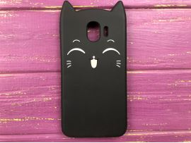 3D Sweet Cat Samsung J4 (18) Black