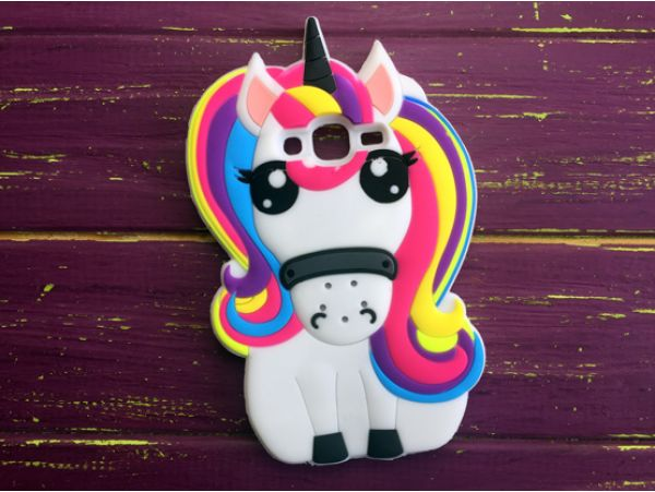 Чехол 3D Unicorn Rainbow Samsung J5