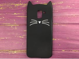 3D CAT'S Samsung J6 (18) Black