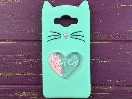3D CAT'S Love Samsung J7(15) Mint