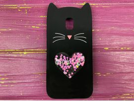 3D CAT'S Love Samsung J330 Black