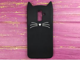 3D CAT'S Samsung J8 (18) Black