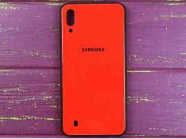 TPU+Glass Samsung M10 Red