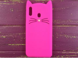 3D CAT'S Samsung M20 Hot Pink