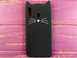 3D CAT'S Samsung M20 Black