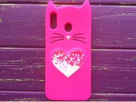 3D CAT'S Love Samsung M20 Hot Pink