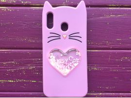 3D CAT'S Love Samsung M20 Purple