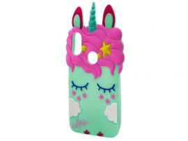 3D Sleep Unicorn Samsung M30 Mint