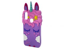 3D Sleep Unicorn Samsung M30 Purple