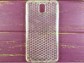 Силикон Diamond Samsung Note 3 white