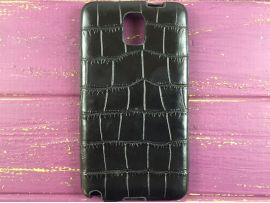 Чехол crocodile skin Samsung Note 3 black