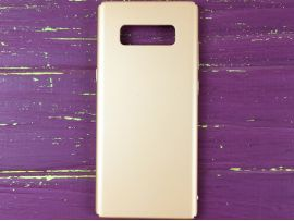 Пластик прорези Samsung Note8 gold