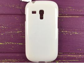 Сил. глянец Samsung S3mini White
