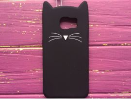 3D CAT'S Samsung S6 Black