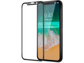 Стекло iPaky 3D iPhone Xr/iPhone11 black
