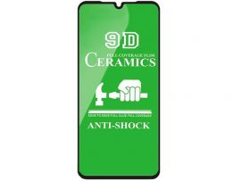 Стекло 3D Ceramics Redmi 9A/9C black