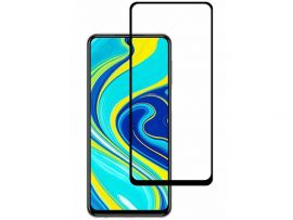Стекло 3D ТП Redmi Note 9 black