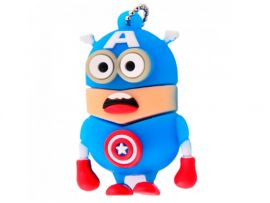 USB Flash 16Gb Minion Captain America