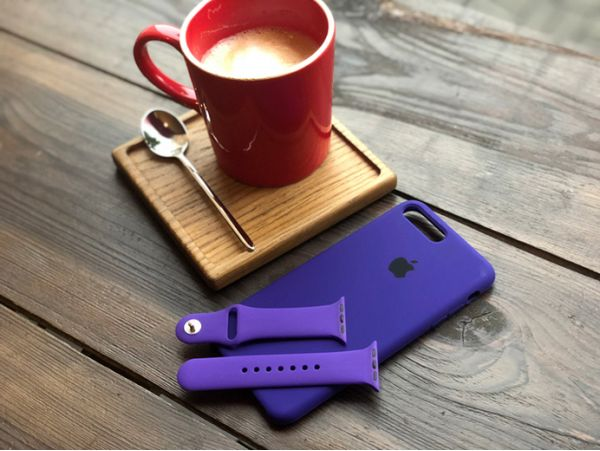 Silicone Watch 38 mm Purple
