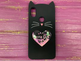 3D CAT'S Love Mi6X/ Mi A2 Black