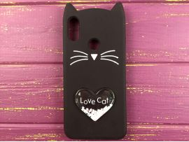 3D CAT'S Love Redmi Note 7 Black