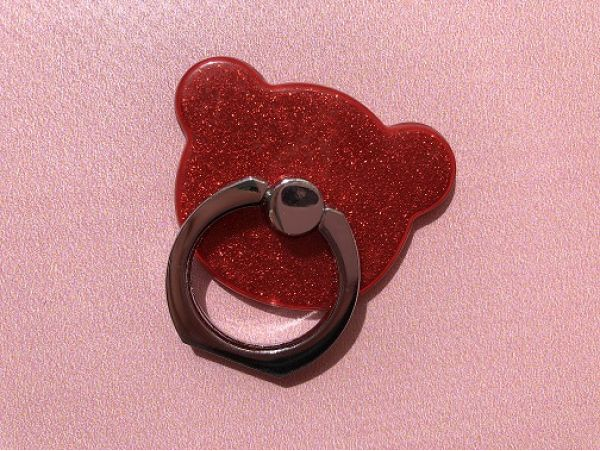 Ring Magic Bear Red