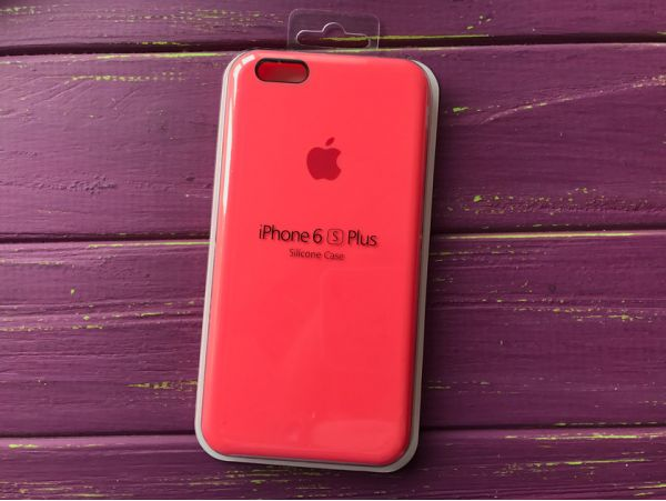 Чехол Case soft touch iP6+ (47) hot pink