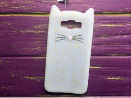 3D CAT'S Samsung J7/J710 White