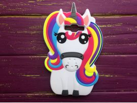 3D Unicorn Rainbow Samsung J7