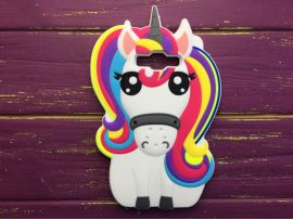 3D Unicorn Rainbow Samsung J710