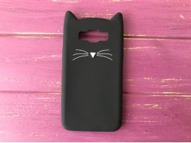 3D CAT'S Samsung J7/J710 Black