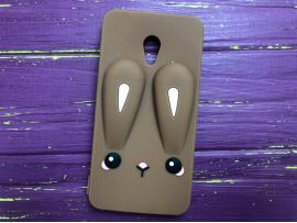 3D RABBIT Meizu M5 Brown