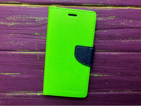 Чехол MERCURY Fancy Samsung J3 green