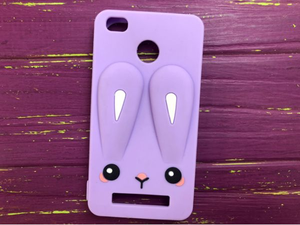 Чехол 3D RABBIT Redmi 4A Purple