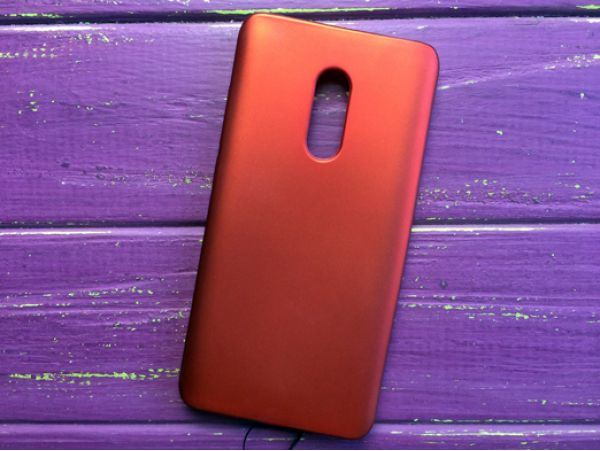 Силикон Baseus Redmi Note 4 red