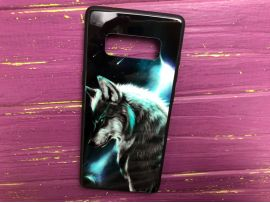 TPU+Glass Samsung Note 8 Wolf